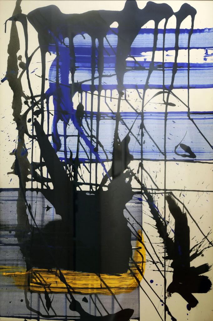 GERADE LINIEN ZIEHEN - 70x100 - VERKAUFT